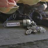 You're Beautiful, Message In A Bottle Necklace