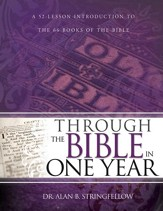 Through the Bible in One Year: A 52 Lesson Introduction to the 66 Books of the Bible - eBook