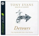 Detours: The Unpredictable Path to Your Destiny - unabridged audio book on CD