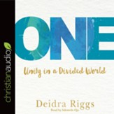 One: Unity in a Divided World - unabridged audio book on CD