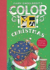 Mary Engelbreit's Color ME Christmas Book of Postcards