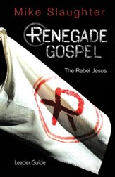 Renegade Gospel Leader Guide: The Rebel Jesus - eBook
