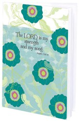 The Lord is My Strength Mini Journal