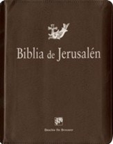 Biblia de Jerusalén: manual con funda de cremallera, Jerusalem Bible with Zipper Closure