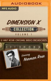 Dimension X, Collection 1 - unabridged audiobook on MP3-CD