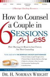 How to Counsel a Couple in 6 Sessions or Less - eBook