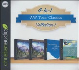 A.W. Tozer Classics - 4 Book Bundle on MP3-CD  includes The Knowledge of the Holy, The Pursuit of God, and   The Attributes of God, volumes 1 & 2