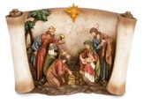 Joy to the World LED Nativity Figurine