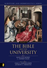 The Bible and the University - eBook