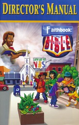 Faithbook VBS: Director's Manual  - Slightly Imperfect