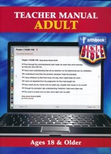 Faithbook VBS: Adult Teacher Manual