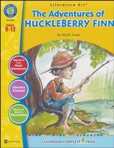 The Adventures of Huckleberry Finn (Mark Twain) Literature Kit