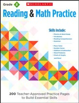Reading and Math Practice  (Grade 2)             2): 200 Teacher-Approved Practice Pages to Build