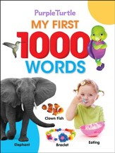 My First 1000 Words Book, paperback