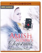 Amish Widows Christmas - unabridged audio book on CD