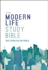 NKJV Modern Life Study Bible, Hardcover - Slightly Imperfect