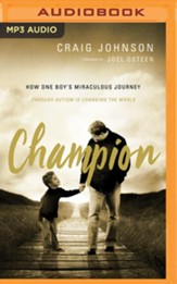 Champion - unabridged audiobook on MP3-CD