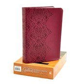 NKJV Gaither Homecoming Bible, Leathersoft, burgundy