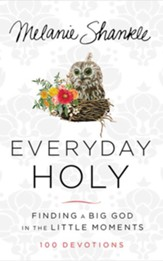 Everyday Holy: Finding a Big God in the Little Moments - unabridged audiobook on CD