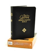 NKJV Gaither Homecoming Bible, Bonded leather, black  - Slightly Imperfect