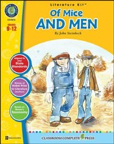 Of Mice and Men (by John Steinbeck) Literature Kit, Grades 9-12