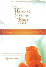 NIV The Woman's Study Bible, Hardcover - Slightly Imperfect