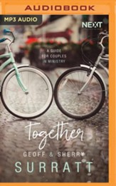 Together: A Guide for Couples Doing Ministry Together - unabridged audiobook on MP3-CD