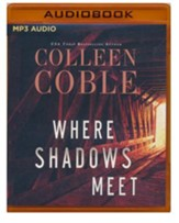 Where Shadows Meet: A Romantic Suspense Novel - unabridged audiobook on MP3-CD