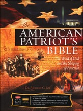 NKJV American Patriots Bible, softcover  - Slightly Imperfect