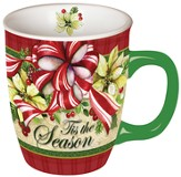 Tis The Season Wreath Mug