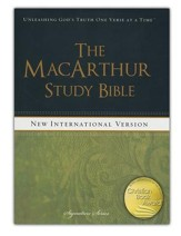 NIV MacArthur Study Bible, Hardcover  - Slightly Imperfect