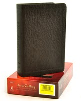 NKJV Jesus Calling Devotional Bible, Soft leather-look, espresso