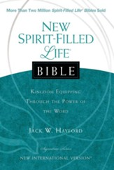 NIV New Spirit Filled Life Bible, Hardcover