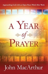 Year of Prayer, A: Growing Closer to God Week After Week - eBook