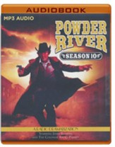Powder River - Season Ten: A Radio Dramatization - unabridged audiobook on MP3-CD
