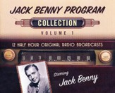 The Jack Benny Program Collection, Volume 1 -12 Half-Hour Original Radio Broadcasts on CD