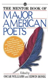 The Mentor Book of Major American Poets  - Slightly Imperfect