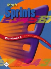 Math Sprints Workbook 5
