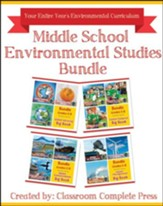 Middle School Environmental Studies  Bundle, Grades 5-8