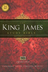 King James Study Bible, Second Edition, Hardcover  - Slightly Imperfect