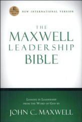 NIV Maxwell Leadership Bible, Hardcover