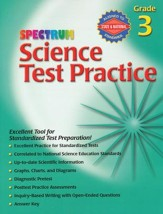 Spectrum Science Test Practice Grade 3