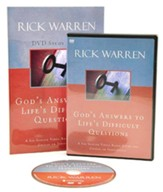 God's Answers to Life's Difficult Questions Study Guide with DVD