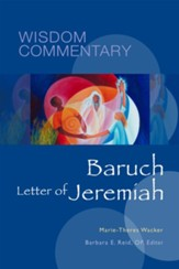 Wisdom Commentary: Baruch Letter of Jeremiah