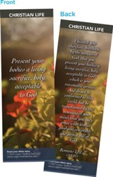 Present Your Bodies..., Bookmarks, Pack of 25
