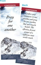 Pray for One Another Bookmarks, Pack of 25