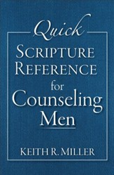 Quick Scripture Reference for Counseling Men - eBook