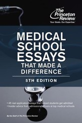 Medical School Essays That Made a  Difference, 5th Edition - eBook