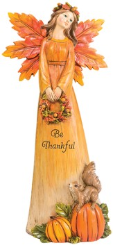Be Thankful Harvest Angel Figurine