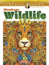 Wondrous Wildlife Coloring Book